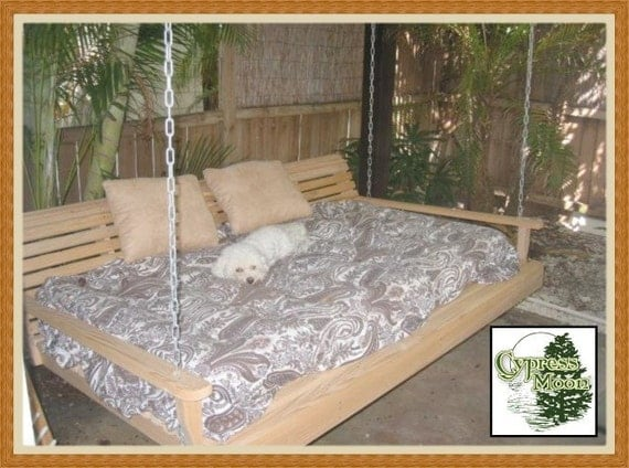 Giant Cypress Bed Swing (FREE SHIPPING)