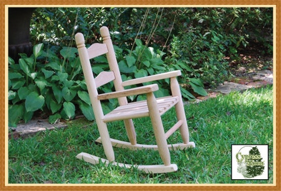 Baby Rocking Chair FREE SHIPPING By CypressMoonFurniture On Etsy