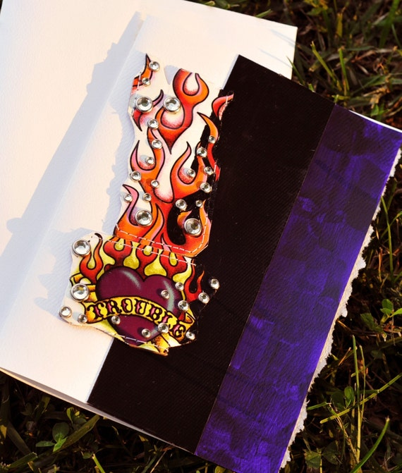 Smokin Hot Fine Art Greeting Card 5 by 7 inches