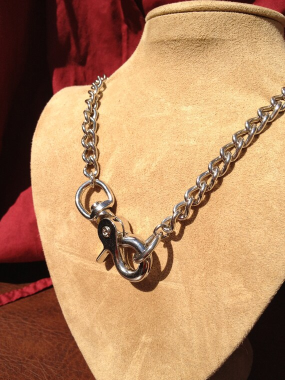 Chain Choker with Clip