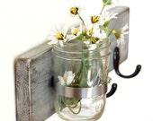INDUSTRIAL URBAN vase key hooks Metallic Silver
