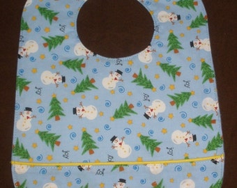 Little Snowpeople waterproof bib
