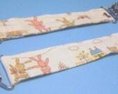 Animal Neighbors Cotton Fabric Mitten Clips