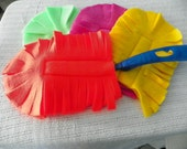 Four (4) Swiffer/Pledge duster reuseable cover Eco Neon Colors