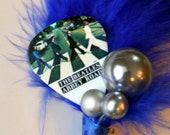 Guitar Pick Boutonniere - Beatles Abbey Road