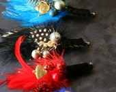 Alice in Wonderland - Novelty Boutonniere Collection - Your Choice!