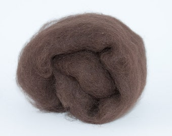 Alpaca Brown Batts - 4 ounces