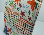 The Notetaker - Quilted Notepad Holder - Tropical Passion