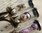 Rosmerta - Gypsy the fortune teller machine - miniature specimen ring - Cabinet of Curiosities by KarolinFelix
