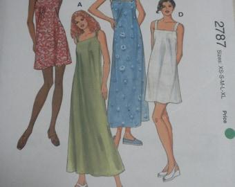 Kwik Sew 2787  Misses Dresses
