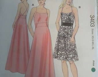 Kwik Sew 3403 Misses Dresses
