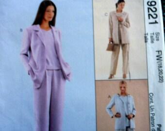 McCalls 9221 Sew News Petite-able