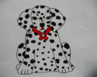 Dalmation Puppy Backpack Panel