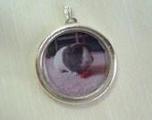 Special Order for Michelle-  Custom Photo Frame Pendant