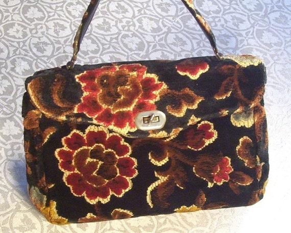 Vintage Spilene Cartpetbag Purse
