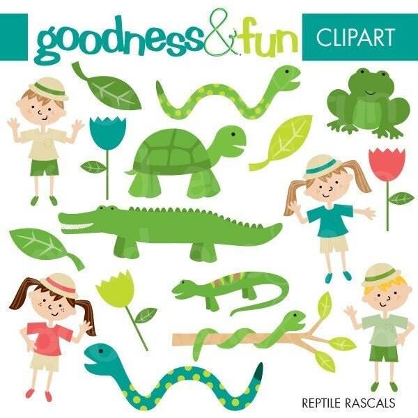 Clip Art Reptile Clipart reptile clipart etsy buy 2 get 1 free rascals digital instant download