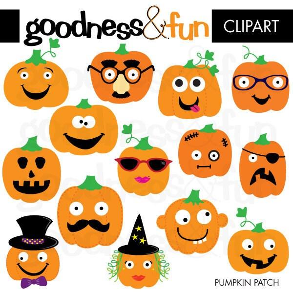 Pumpkin Decorating Clip Art