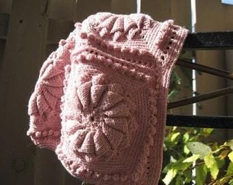 Pinwheel Motif Nightcap Pattern