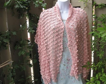 Shabby Chic Shawl/Shrug Pattern