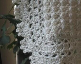 Victorian Scarf Pattern in Bolsover Stitch
