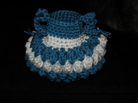 Crocheted Jar for Pence Pattern