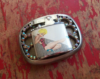 Pin up Girl Belt Buckle
