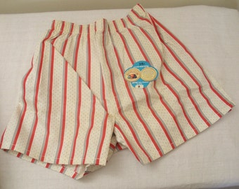 Vintage Fruit of the Loom Boxers Boy Sz 6 - New Old Stock