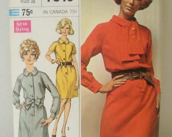 Vintage 1968 Simplicity 7846 Dress Pattern - Size 16 Uncut