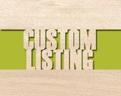 Custom Order for Jessica Doll