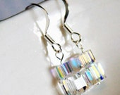 stacked cubes earrings
