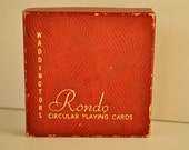 Waddingtons Rondo Circular Playing Cards