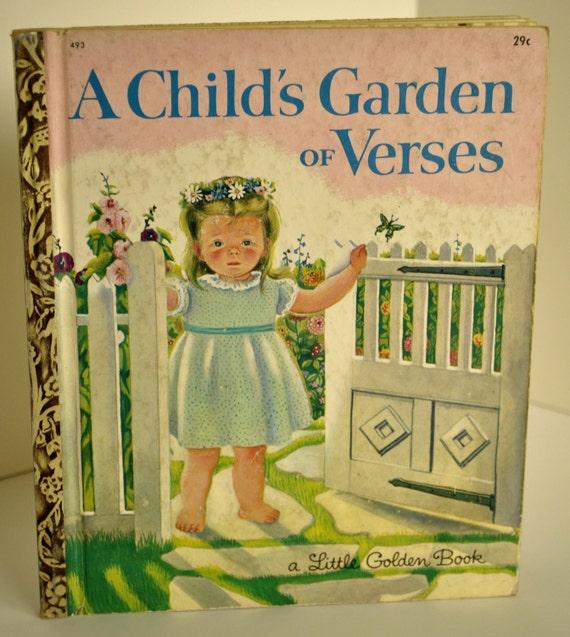 Little Golden Book - A Child's Garden of Verses