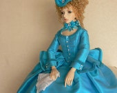 OOAK  Marie Antionette Style Walking Outfit