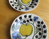 Vintage Arabia of Finland - Paratiisi - Cup and Saucers - Set of two