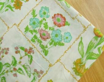 Olde Tyme - vintage flat bedsheet