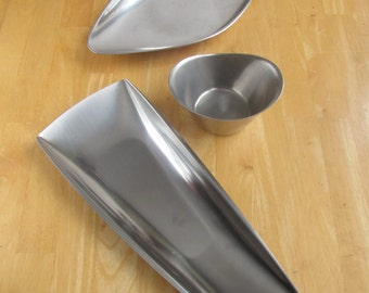 Gense Stainless Steel Serving Tray