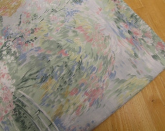 Rainbow Woods - vintage flat bedsheet