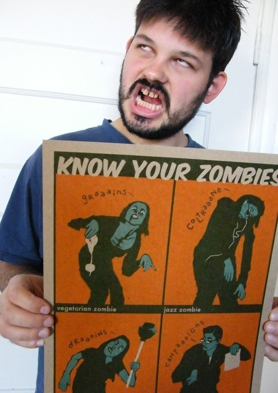 Know Your Zombies poster