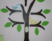 Small Bird For Wooden Tree Wall Decor