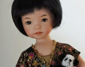 Dianna Effner all porcelain 8 inch Artisan Collector  Doll.