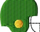 Football Helmet Mini Machine Embroidery Design