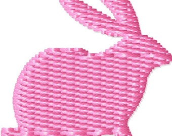 Easter Bunny Machine Embroidery Design Mini