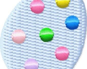 Easter Egg Machine Embroidery Design Mini