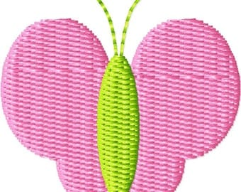 Butterfly 2 Machine Embroidery Design Mini