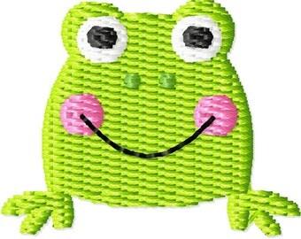 Frog Mini Machine Embroidery Design