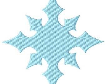 Snowflake Mini 2  Machine Embroidery Design