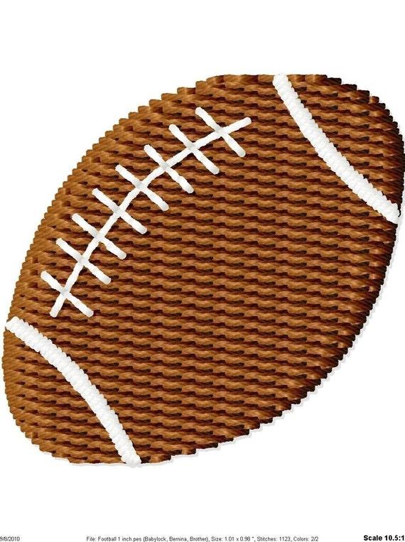Mini Football Machine Embroidery Design