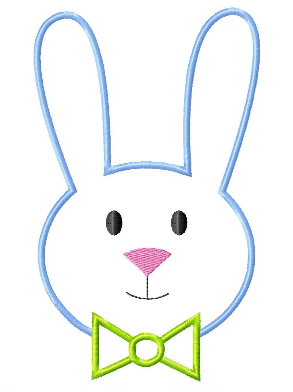 Cartoon rabbit face - photo#21