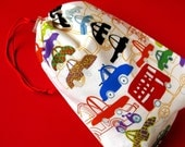 Drawstring bag - cars