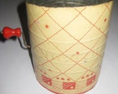 Vintage Victor Tin Flour Sifter in Red & White 1950s 1960s, midcentury, on Etsy by TheRetroLife